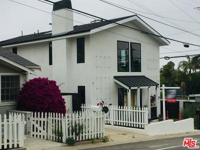 Santa Monica Single Family Home For Sale: 3027 11th Street