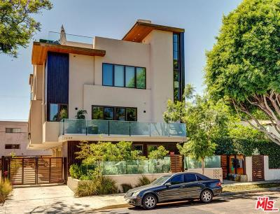 West Hollywood Condo/Townhouse For Sale: 1249 North Formosa Avenue