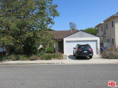 Santa Monica Single Family Home For Sale: 1020 Wilson Place
