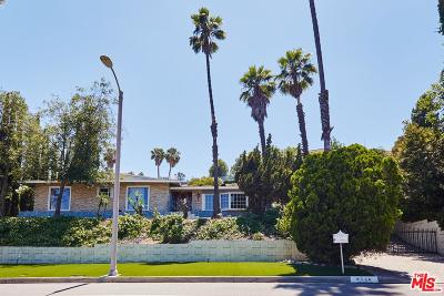 Single Family Home For Sale: 8540 Mulholland Drive