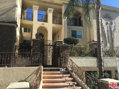 Burbank Condo/Townhouse For Sale: 540 East Angeleno Avenue #102