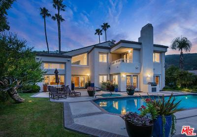 Pacific Palisades Single Family Home For Sale: 16590 Via Floresta