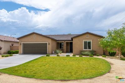 Indio Single Family Home For Sale: 42031 Denali Court