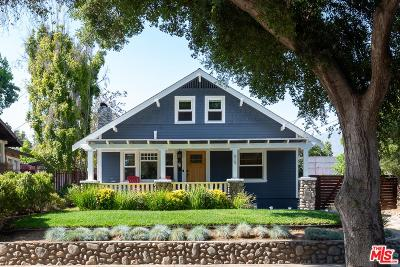 Pasadena Single Family Home For Sale: 619 East Claremont Street
