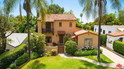 Los Angeles County Single Family Home Active Under Contract: 3291 North Mount Curve Avenue