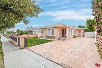 Residential Income For Sale: 4069 Sawtelle Boulevard