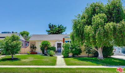 Burbank Single Family Home Active Under Contract: 705 North Lima Street