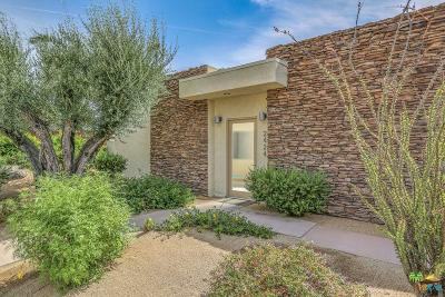 Palm Springs Single Family Home Active Under Contract: 2424 South Pebble Beach Drive