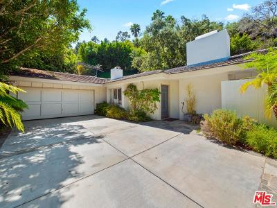 Beverly Hills Single Family Home For Sale: 1261 Beverly View Drive