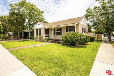 Los Angeles Single Family Home Active Under Contract: 3745 Redwood Avenue