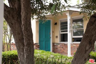 Single Family Home For Sale: 1000 Harding Avenue