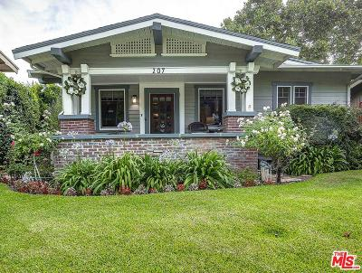 Alhambra Single Family Home Active Under Contract: 207 South Cordova Street