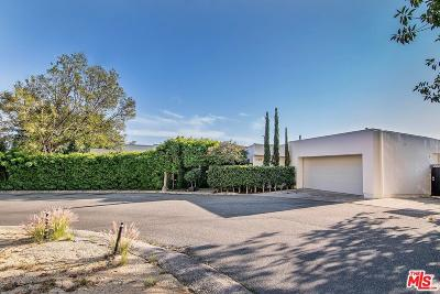 Single Family Home For Sale: 2001 Sunset Plaza Drive