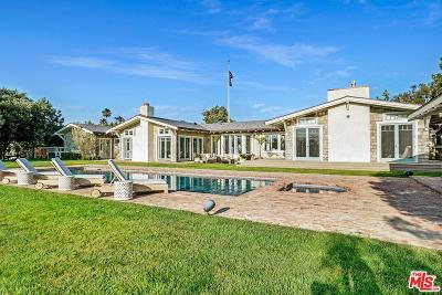 Malibu Single Family Home For Sale: 6815 Dume Drive