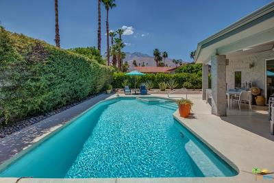 Palm Springs Single Family Home Active Under Contract: 2965 East Alta Loma Drive