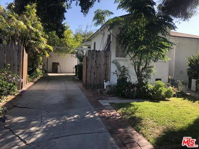 Los Angeles Single Family Home For Sale: 6018 Comey Avenue