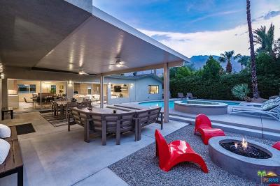 Palm Springs Single Family Home Active Under Contract: 1060 East Marshall Way
