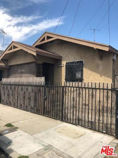 Los Angeles Single Family Home For Sale: 2315 Stanford Avenue