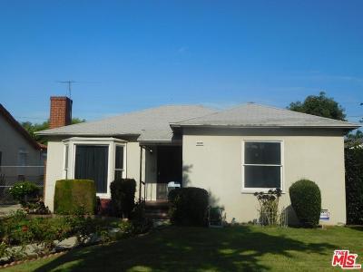 Compton Single Family Home Active Under Contract: 317 South Poinsettia Avenue