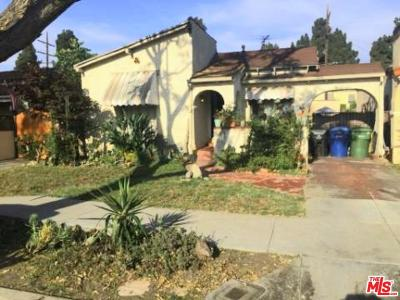 Single Family Home For Sale: 4238 South Norton Avenue