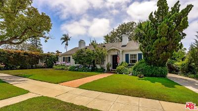 Pacific Palisades Single Family Home Active Under Contract: 869 Toyopa Drive