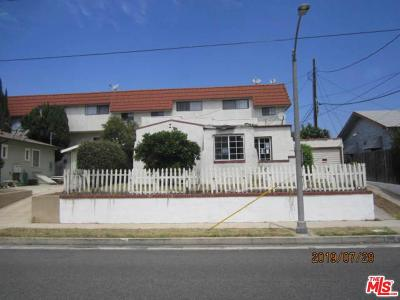 Alhambra Single Family Home For Sale: 107 East Woodward Avenue
