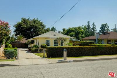 Monrovia Single Family Home Active Under Contract: 210 Los Angeles Avenue