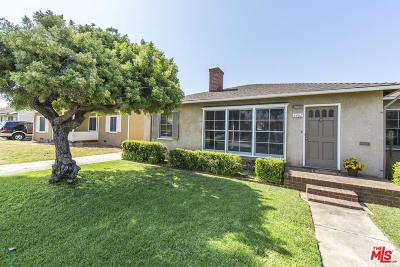 Single Family Home For Sale: 6462 West 87th Place