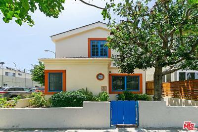Venice Single Family Home For Sale: 2515 Ocean Avenue
