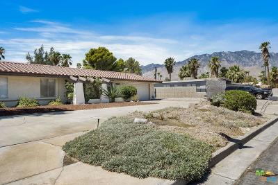 Palm Springs Single Family Home Active Under Contract: 3077 East Verona Road
