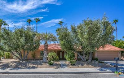 Palm Springs Single Family Home For Sale: 2497 East Santa Ynez Way
