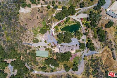Los Angeles Single Family Home For Sale: 3100 Mandeville Canyon Road