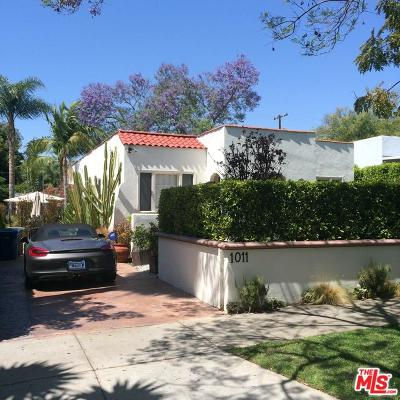 West Hollywood Single Family Home For Sale: 1011 Havenhurst Drive