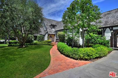 Beverly Hills Single Family Home Active Under Contract: 604 North Palm Drive
