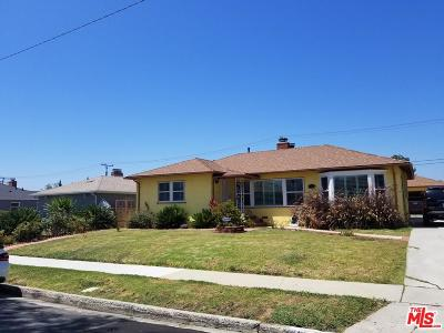 Inglewood Single Family Home For Sale: 9717 South 2nd Avenue