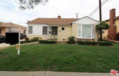 Los Angeles Single Family Home For Sale: 6235 Acacia Street