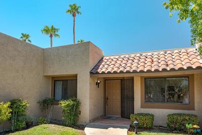 Palm Desert Condo/Townhouse Active Under Contract: 47706 Date Palm Court