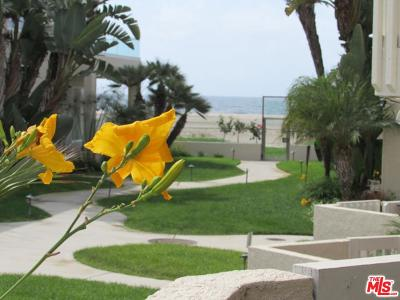 Playa Del Rey Condo/Townhouse For Sale: 7301 Vista Del Mar #B105