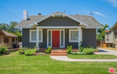 Pasadena Single Family Home Active Under Contract: 1789 Walworth Avenue