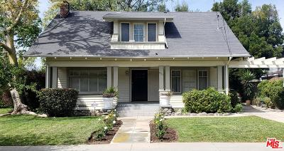 Pasadena Single Family Home For Sale: 891 North Garfield Avenue