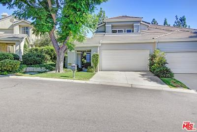 Westlake Village Condo/Townhouse For Sale: 5541 Shadow Canyon Place
