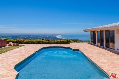 Pacific Palisades Single Family Home For Sale: 1354 Lachman Lane