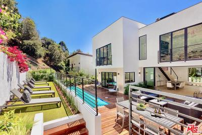 Beverly Hills Single Family Home Active Under Contract: 2044 Benedict Canyon Drive