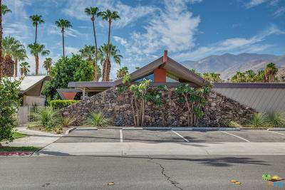 Palm Springs Condo/Townhouse Active Under Contract: 201 East Twin Palms Drive
