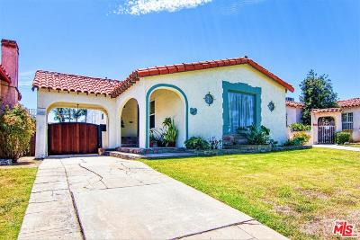 Single Family Home For Sale: 3640 West 61st Street