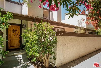 Pacific Palisades Condo/Townhouse For Sale: 1526 Palisades Drive