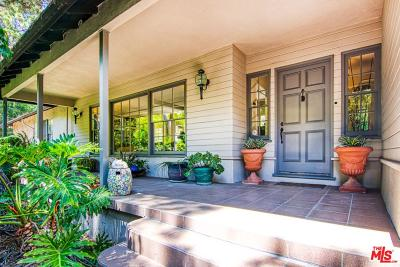 Beverly Hills Single Family Home For Sale: 2514 Benedict Canyon Drive