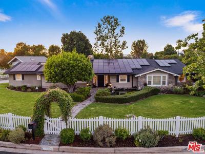 Tarzana Single Family Home Active Under Contract: 5229 Beckford Avenue