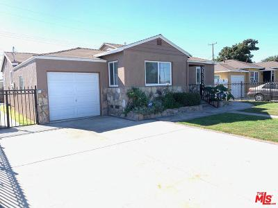 Compton Single Family Home Active Under Contract: 1907 North Paulsen Avenue