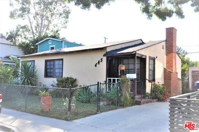 Santa Monica Single Family Home For Sale: 645 Navy Street